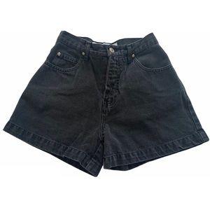 Anchorblue Vintage Black high waisted denim shorts